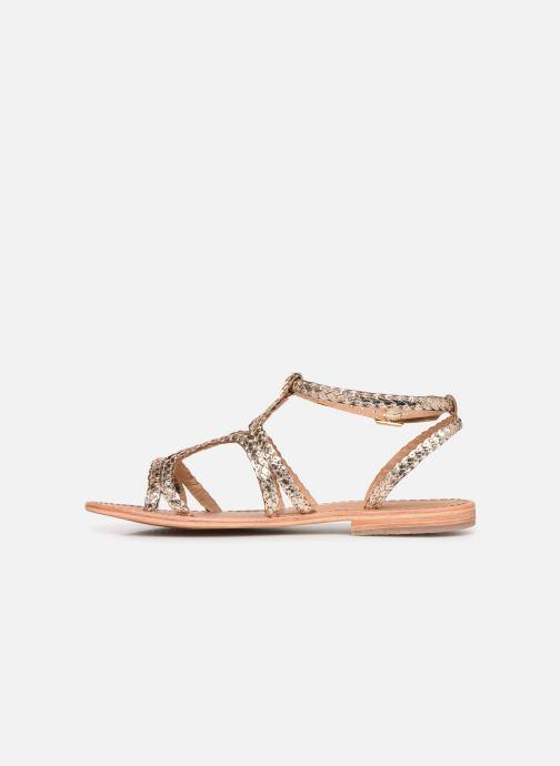 Sandales et nu-pieds Les Tropéziennes par M Belarbi BOUNTY new Or et bronze vue face