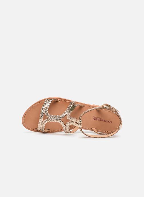 Sandales et nu-pieds Les Tropéziennes par M Belarbi BOUNTY new Or et bronze vue gauche