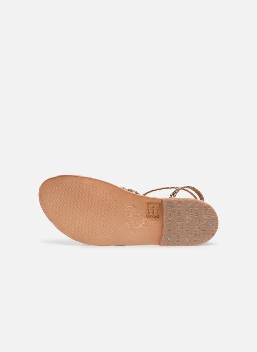 Sandales et nu-pieds Les Tropéziennes par M Belarbi BOUNTY new Or et bronze vue haut