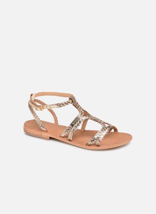 Sandales et nu-pieds Les Tropéziennes par M Belarbi BOUNTY new Or et bronze vue détail/paire