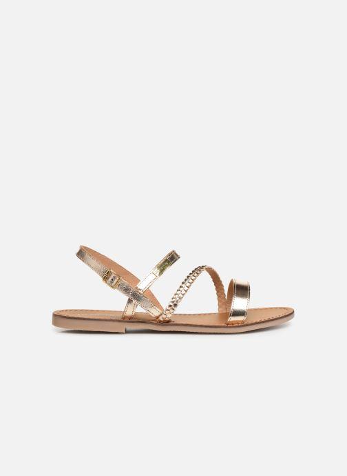 Sandales et nu-pieds Les Tropéziennes par M Belarbi BATRESSE Or et bronze vue derrière