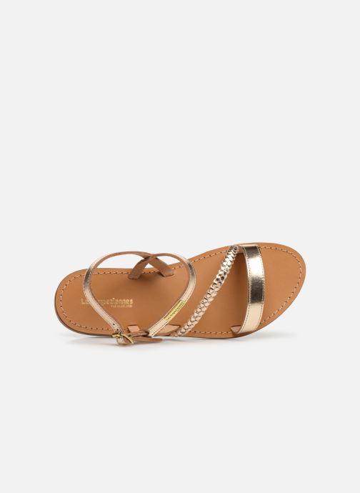 Sandali e scarpe aperte Les Tropéziennes par M Belarbi BATRESSE Oro e bronzo immagine sinistra