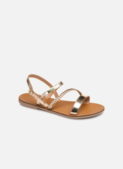 Sandales et nu-pieds Les Tropéziennes par M Belarbi BATRESSE Or et bronze vue détail/paire