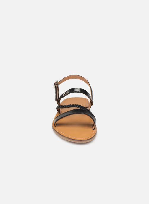 Sandales et nu-pieds Les Tropéziennes par M Belarbi BATRESSE Noir vue portées chaussures