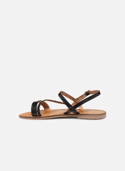 Sandales et nu-pieds Les Tropéziennes par M Belarbi BATRESSE Noir vue face
