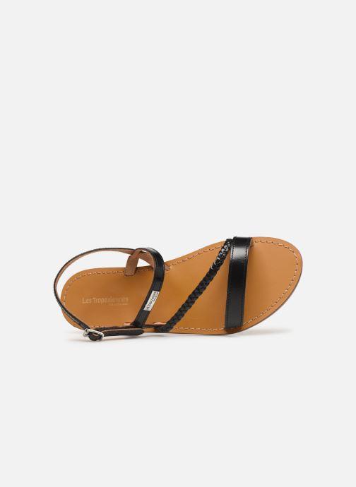 Sandales et nu-pieds Les Tropéziennes par M Belarbi BATRESSE Noir vue gauche