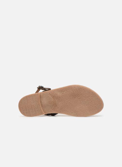 Sandales et nu-pieds Les Tropéziennes par M Belarbi BATRESSE Noir vue haut