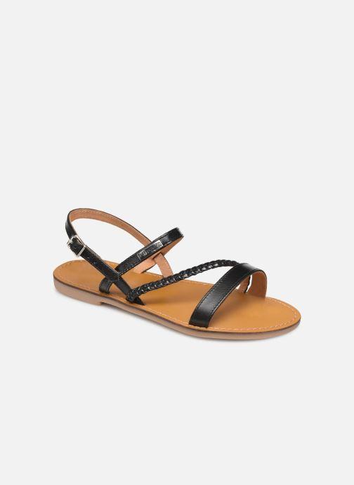 Sandales et nu-pieds Les Tropéziennes par M Belarbi BATRESSE Noir vue détail/paire