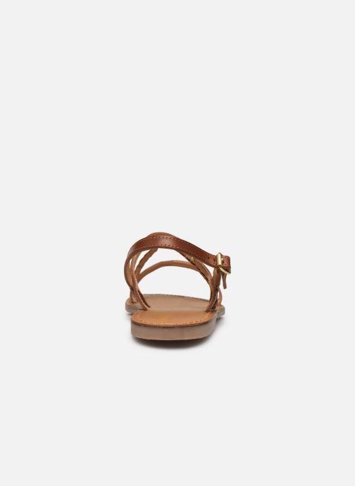 Sandales et nu-pieds Les Tropéziennes par M Belarbi BATRESSE Marron vue droite