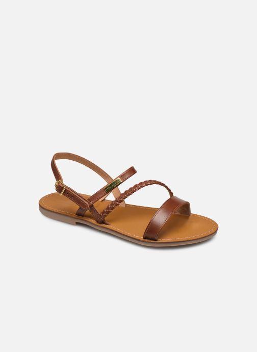 Sandales et nu-pieds Les Tropéziennes par M Belarbi BATRESSE Marron vue détail/paire