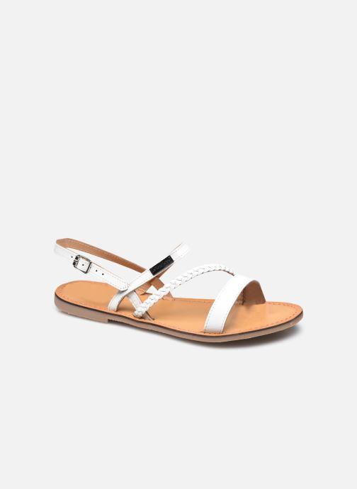 Sandales et nu-pieds Les Tropéziennes par M Belarbi BATRESSE Blanc vue détail/paire