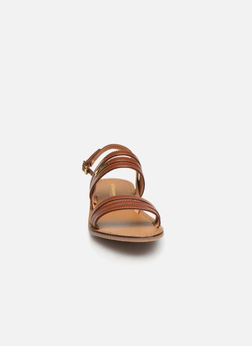 Sandals Les Tropéziennes par M Belarbi BRENDA Brown model view