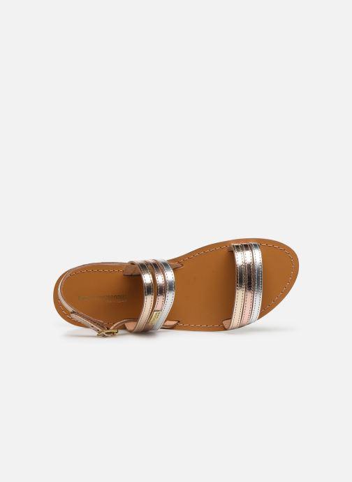 Sandali e scarpe aperte Les Tropéziennes par M Belarbi BRENDA Oro e bronzo immagine sinistra