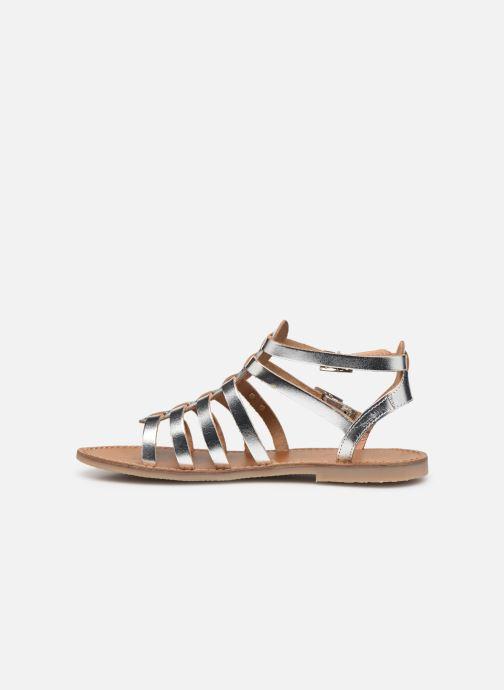 Sandales et nu-pieds Les Tropéziennes par M Belarbi HICELOT Argent vue face