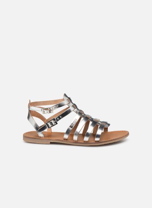 Sandales et nu-pieds Les Tropéziennes par M Belarbi HICELOT Argent vue derrière