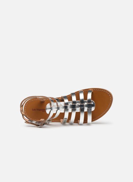 Sandales et nu-pieds Les Tropéziennes par M Belarbi HICELOT Argent vue gauche