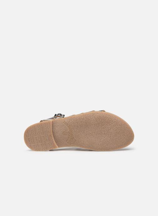 Sandales et nu-pieds Les Tropéziennes par M Belarbi HICELOT Argent vue haut