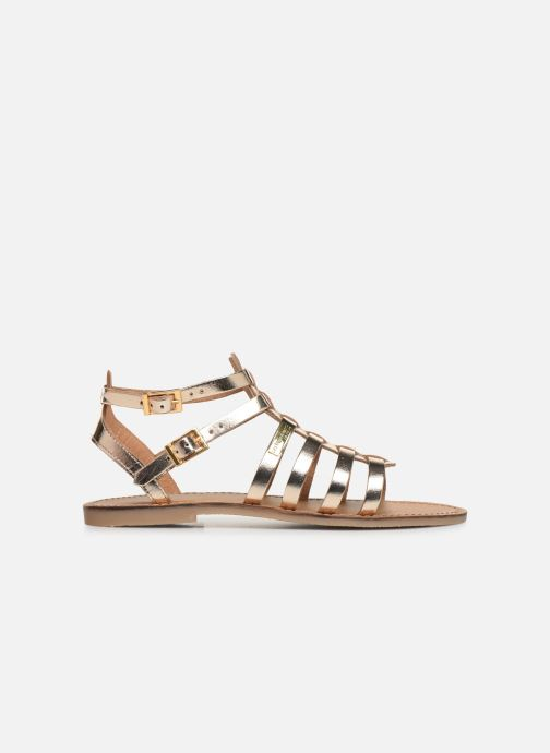 Sandales et nu-pieds Les Tropéziennes par M Belarbi HICELOT Or et bronze vue derrière