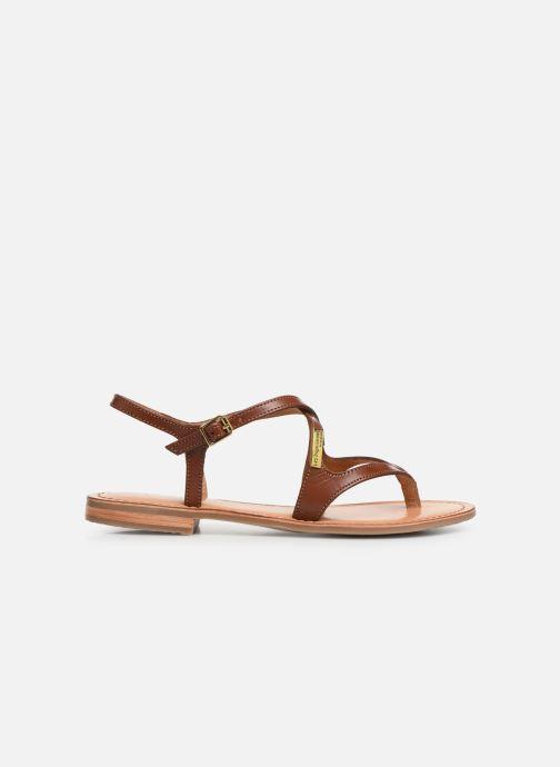 Sandales et nu-pieds Les Tropéziennes par M Belarbi HEDI Marron vue derrière