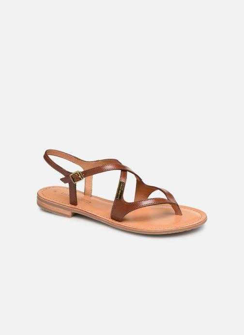 Sandales et nu-pieds Les Tropéziennes par M Belarbi HEDI Marron vue détail/paire
