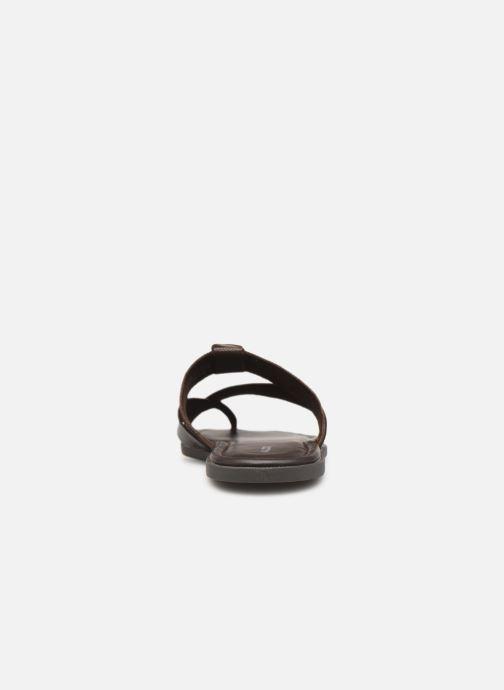 Sandales et nu-pieds Aldo BAECCI Marron vue droite