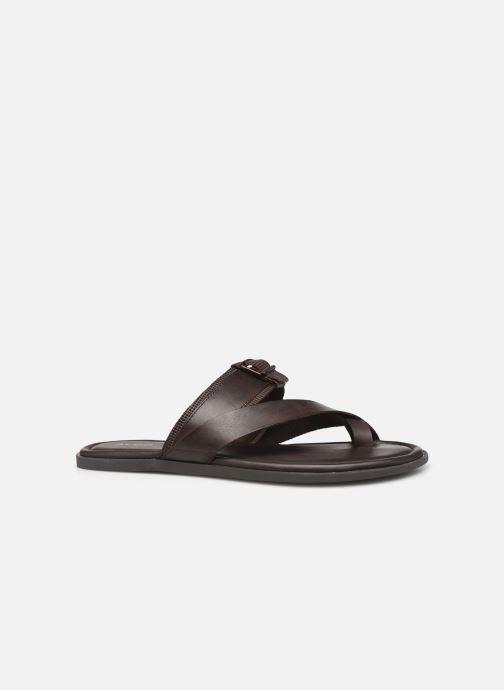 Sandales et nu-pieds Aldo BAECCI Marron vue derrière