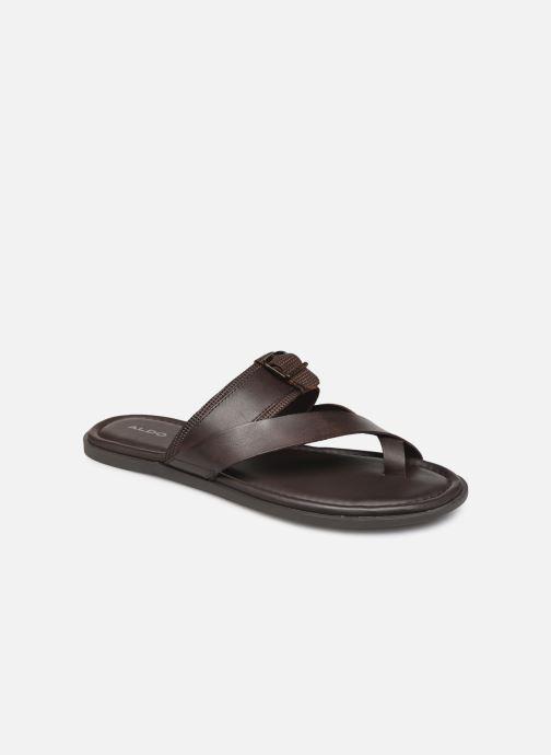 Sandales et nu-pieds Aldo BAECCI Marron vue détail/paire