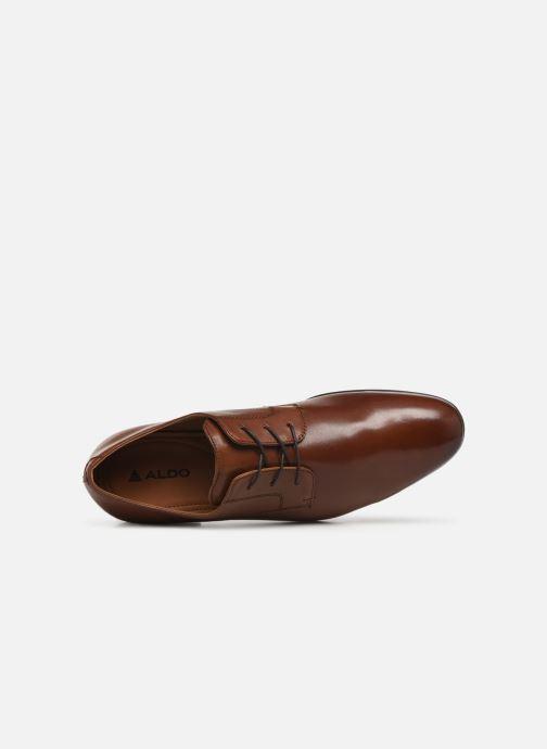 Chaussures à lacets Aldo BANSANG Marron vue gauche
