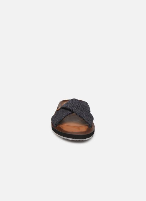 Sandales et nu-pieds Aldo DWELALIAN Bleu vue portées chaussures