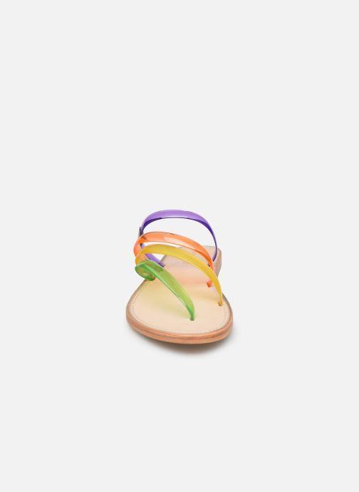 Sandales et nu-pieds Les Tropéziennes par M Belarbi OPINA Multicolore vue portées chaussures