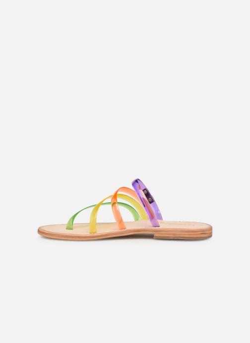 Sandales et nu-pieds Les Tropéziennes par M Belarbi OPINA Multicolore vue face