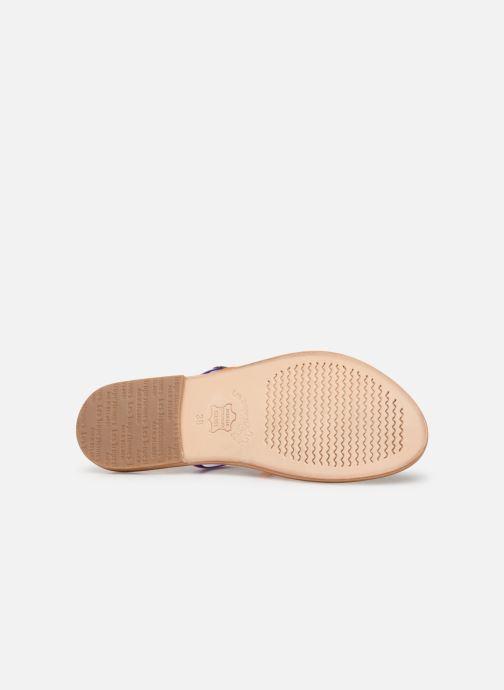 Sandales et nu-pieds Les Tropéziennes par M Belarbi OPINA Multicolore vue haut
