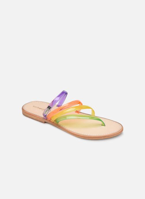 Sandales et nu-pieds Les Tropéziennes par M Belarbi OPINA Multicolore vue détail/paire