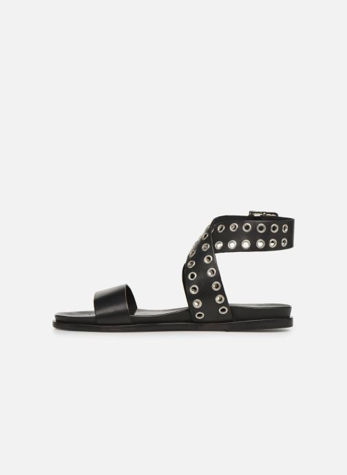 Sandales et nu-pieds Les Tropéziennes par M Belarbi GAYO Noir vue face