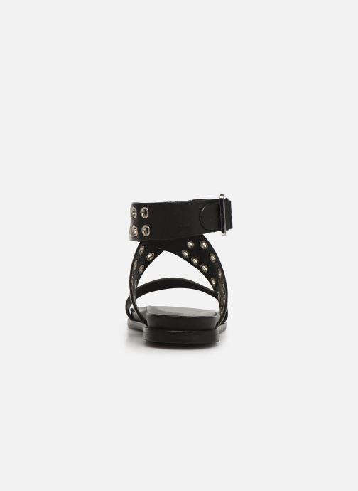 Sandales et nu-pieds Les Tropéziennes par M Belarbi GAYO Noir vue droite