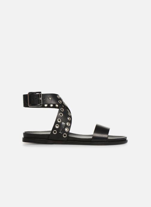 Sandales et nu-pieds Les Tropéziennes par M Belarbi GAYO Noir vue derrière