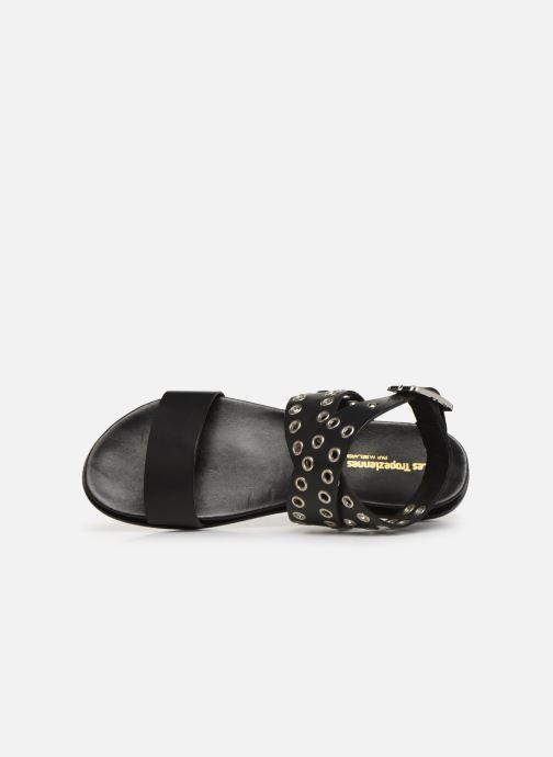 Sandales et nu-pieds Les Tropéziennes par M Belarbi GAYO Noir vue gauche