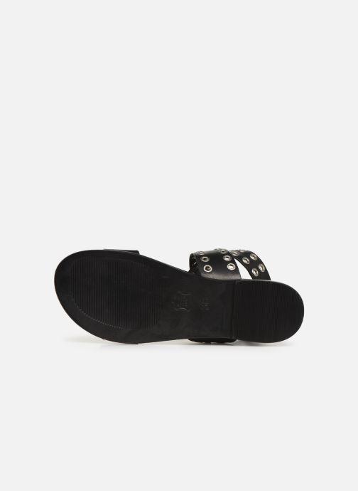 Sandales et nu-pieds Les Tropéziennes par M Belarbi GAYO Noir vue haut