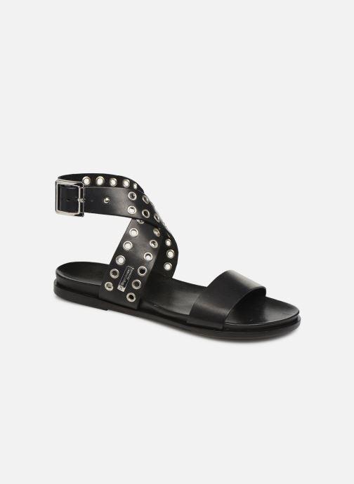 Sandales et nu-pieds Les Tropéziennes par M Belarbi GAYO Noir vue détail/paire