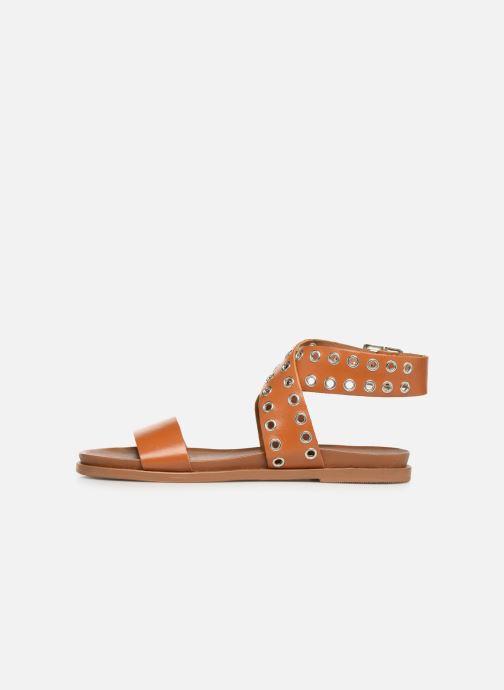 Sandali e scarpe aperte Les Tropéziennes par M Belarbi GAYO Marrone immagine frontale