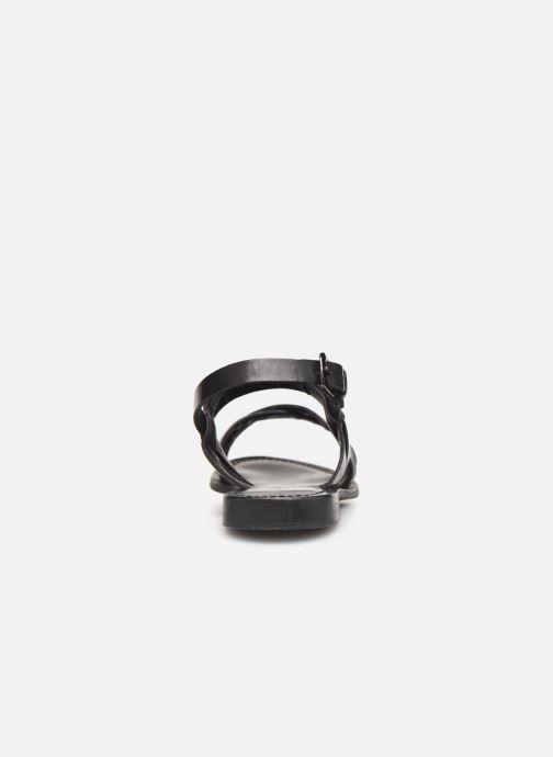 Sandales et nu-pieds Les Tropéziennes par M Belarbi MALINE Noir vue droite