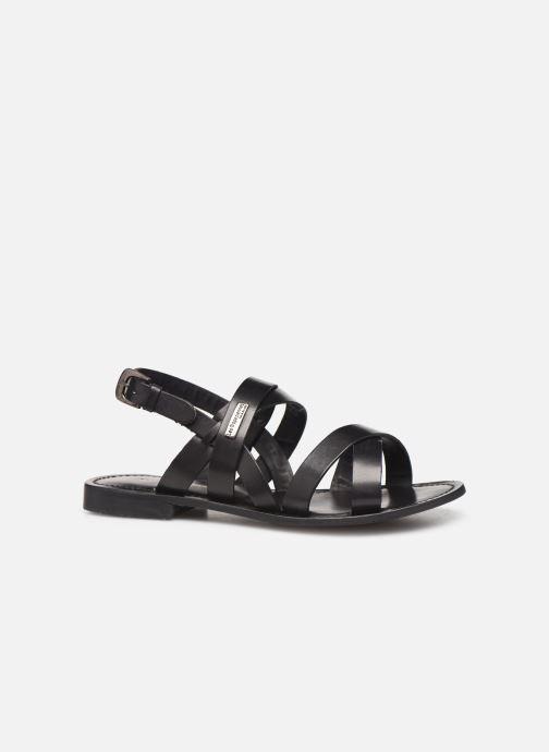 Sandales et nu-pieds Les Tropéziennes par M Belarbi MALINE Noir vue derrière