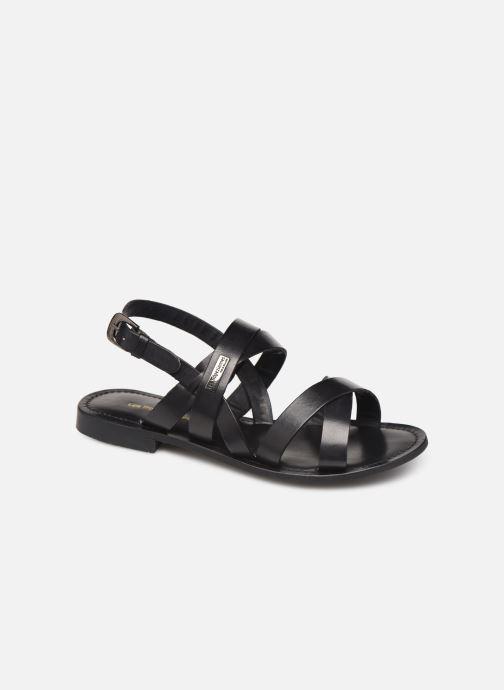 Sandales et nu-pieds Les Tropéziennes par M Belarbi MALINE Noir vue détail/paire