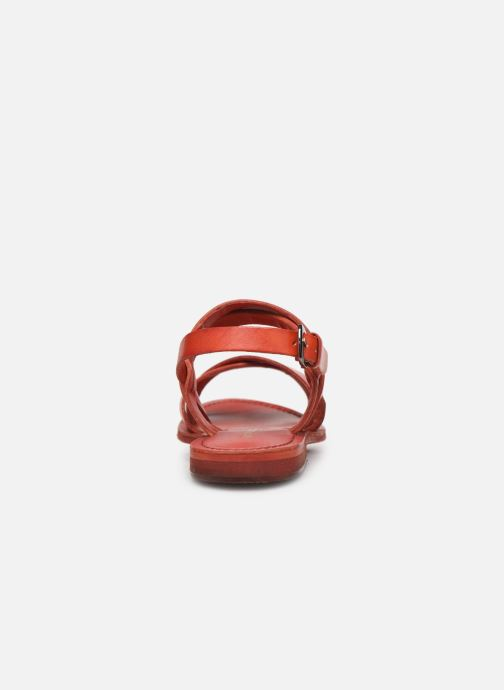 Sandales et nu-pieds Les Tropéziennes par M Belarbi MALINE Rouge vue droite
