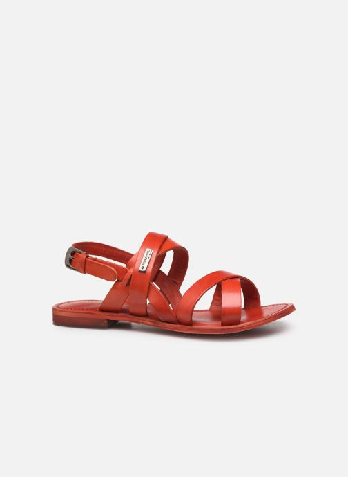 Sandales et nu-pieds Les Tropéziennes par M Belarbi MALINE Rouge vue derrière