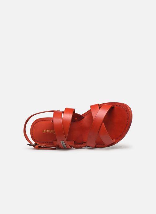 Sandales et nu-pieds Les Tropéziennes par M Belarbi MALINE Rouge vue gauche