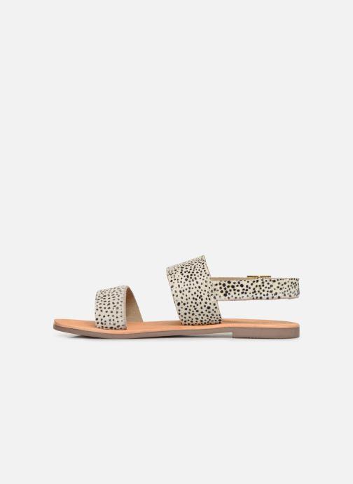 Sandales et nu-pieds Les Tropéziennes par M Belarbi PHOEBUS Blanc vue face