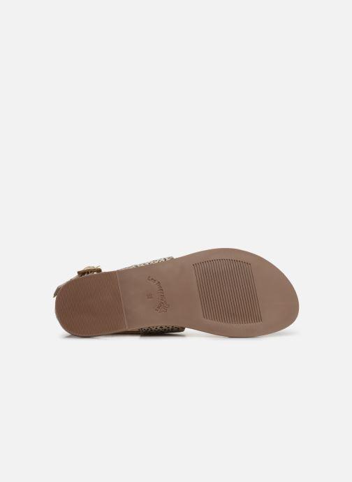 Sandales et nu-pieds Les Tropéziennes par M Belarbi PHOEBUS Blanc vue haut