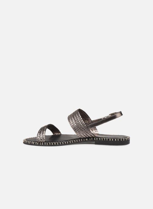 Sandales et nu-pieds Les Tropéziennes par M Belarbi ORIANO Argent vue face