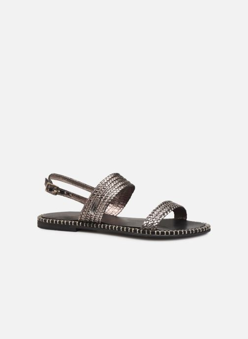 Sandales et nu-pieds Les Tropéziennes par M Belarbi ORIANO Argent vue détail/paire